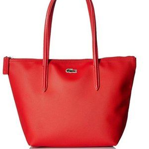 NWT Lacoste Red Tote Bag Purse